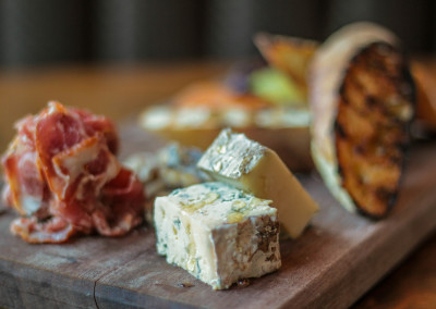 Fresh meats and cheeses at Flatiron in Davidson